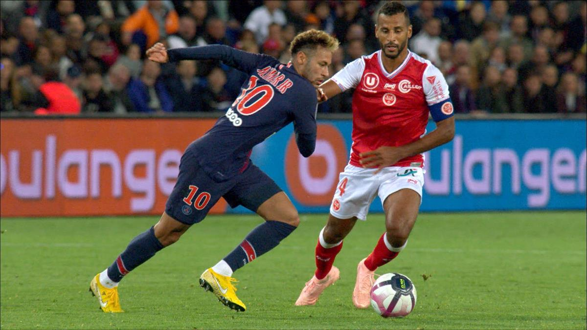 Paris Reims Neymar Jr Skills Paris Saint Germain