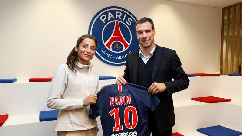 Nadia Nadim signs with Paris Saint-Germain until the end of the ...