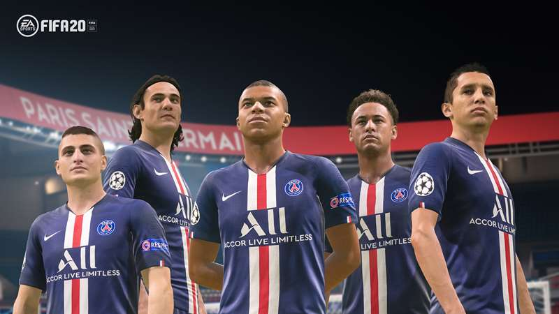 Ea Sports And Paris Saint Germain Renew Partnership Paris Saint Germain