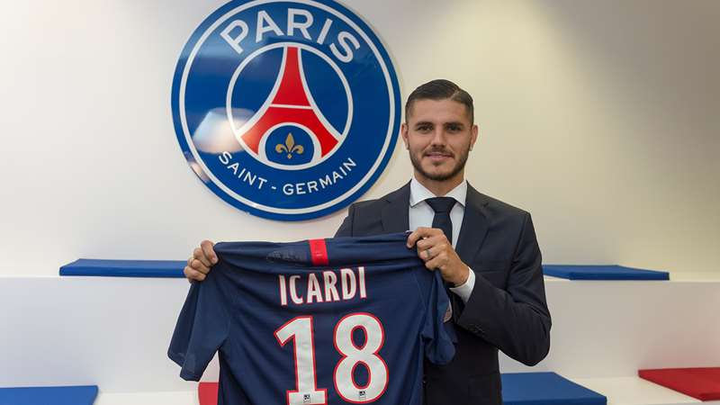 Mauro Icardi Signs For Paris Saint Germain