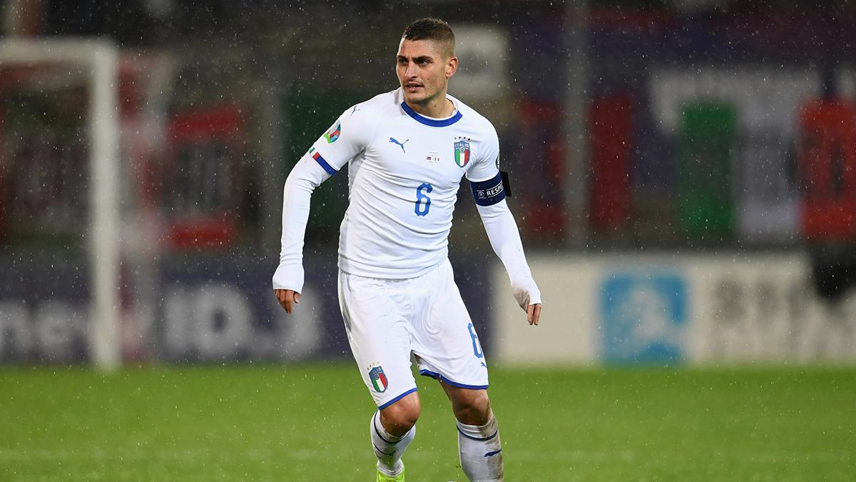 Verratti captains Italy